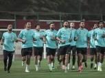 بيرسي تاو وفؤاد وحسام وعمار يشاركون في تدريب الأهلي