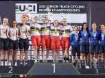 روسيا تفوز بذهبية سباقات السرعة ببطولة العالم للناشئين لدراجات المضمار