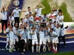 نجوم من الدوري المصري يحتفلون بفوز الأرجنتين بكوبا أمريكا 2021