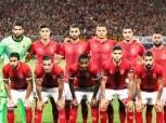 الأهلي يختتم استعداداته للوداد بمران خفيف على الملعب الفرعي لاستاد برج العرب