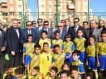 وزير الشباب والرياضة يتفقد المدينة الرياضية ببورسعيد (صور)