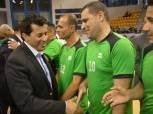 وزير الشباب والرياضة يحضر مباراة السوبر لـ«الكرة الطائرة جلوس»