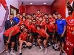 احتفالية لتسليم الأهلي درع الدوري قبل مباراة السوبر