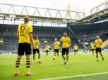 الدوري الألماني.. دورتموند يتقدم بهدف وهدوء من فولسبورج في الشوط الأول