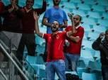 جماهير الأهلي تؤازر اللاعبين في «مران رادس»