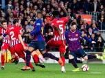 معلق مباراة برشلونة واتلتيكو مدريد اليوم