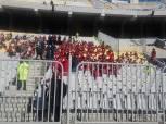 بالصور| مدرج خاص لبراعم الأهلي في مباراة شبيبة الساورة