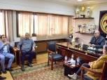 اتحاد اليد يعقد أول اجتماع مع حسين لبيب لوضع خارطة العمل لتنظيم مونديال مصر 2021