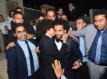 بالصور| محمد صلاح في حفل زفاف حسين السيد