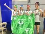 نتائج مميزة لبراعم المصريفي السباحة ببطولة منطقة بورسعيد