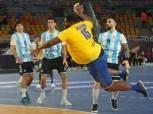 رغم وزنه.. جوتييه مفومبي لاعب منتخب الكونغو يتألق في مونديال اليد