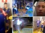 خناقة شوارع بين لاعبي بوكا جونيورز والشرطة البرازيلية «فيديو»