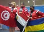 شيماء خلف تحقق ميداليتين في بطولة العالم لرفع الأثقال