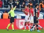 سليماني يسجل ويطرد في خسارة موناكو أمام بوردو بالدوري الفرنسي