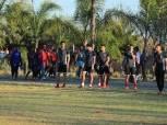 الأهلي يتدرب على «الاستاد الوطني» ببتسوانا استعدادُا لـ«تاونشيب»
