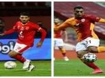 محمد شريف 2 مصطفى محمد 0.. نجم الأهلي يتفوق على مهاجم جالطة سراي
