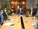 وزير الرياضة وحسن مصطفى يجتمعان باللجنة المنظمة لمونديال اليد