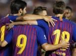 نجوم أمريكا الجنوبية يسيطرون على تشكيلة برشلونة بالموسم الجديد