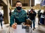 ليونيل ميسي يشارك في انتخابات برشلونة