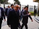 بالصور| وزير الرياضة يصل مقر «الجبلاية» ويعقد جلسة مع أعضاء اتحاد الكرة