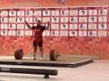 رجب عبد الله يحصد ذهبيتين برفع الأثقال في دورة الألعاب الأفريقية