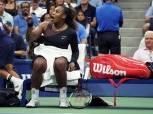 عقوبة مغلظة على «سيرينا ويليامز» بعد أحداث «بطولة أمريكا للتنس»