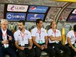 جلسة خاصة تجمع أجيري بمهاجم المقاولون العرب في معسكر المنتخب