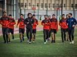 سعد سمير ومروان محسن ينتظمان في مران الأهلي