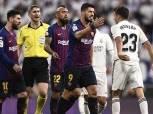 بالصور| سواريز يهين لاعب ريال مدريد في الكلاسيكو: «متعيطش»