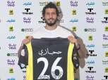 """""""اللاعب رقم 26"""".. اتحاد جدة ينشر مراسم توقيع عقد أحمد حجازي (صور)"""