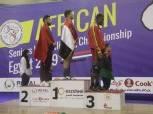 أبطال مصر يهيمنون على بطولة أفريقيا لرفع الأثقال بـ 60 ميدالية متنوعة