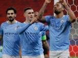 نجوم مانشستر سيتي يسيطرون على تشكيل الأسبوع بدوري أبطال أوروبا