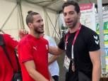 أبرزها لقاء أحمد الأحمر ورمضان صبحي.. نجوم اليد يلتقون المنتخب الأولمبي «صور»