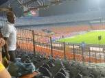شيكابالا يتابع مباراة الزمالك ومصر المقاصة من مدرجات ستاد القاهرة