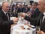 بالفيديو  حقيقة تناول حسام حسن «الخمر» مع «بوتين»