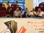 بالصور| «مجلس الريشة الطائرة» يُتابع مواجهات نصف نهائي بطولة مصر الدولية