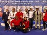منتخب الجودو يرفع رصيده لـ10 ميداليات بالبطولة الأفريقية بتونس
