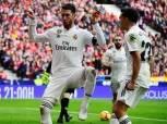 الدوري الإسباني  بالفيديو.. ريال مدريد يُسقط أتليتكو بـ«ثلاثية».. ويصعد للمركز الثاني
