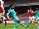 صلاح يسجل في انتصار ليفربول على أرسنال بثلاثية بمشاركة النني «فيديو»