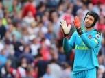 بيتر تشيك يخوض المباراة 100 بقميص أرسنال في الدوري الإنجليزي