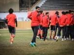 مران الأهلي| تقسيمة حماسية بين اللاعبين.. وإصابة «الشيخ» و«شريف»