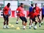التدريب في مجموعة واحدة.. تقسمية بطول الملعب لكل لاعبي الأهلي