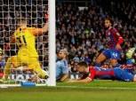مانشستر سيتي يكتفي بالتعادل مع كريستال بالاس في الدوري الإنجليزي