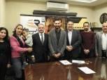 علاء أبو القاسم يوقع عقد رعاية استعدادًا لطوكيو 2020