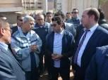 وزير الرياضة يتفقد ستاد شبين الكوم