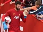 """رسميا.. ليفربول يعلن غياب """"أليسون"""" عن مباراة السوبر الأوروبي أمام تشيلسي"""