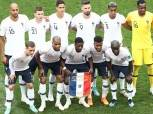 «مبابي وجريزمان» يقودان هجوم فرنسا أمام بلجيكا