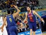 برشلونة بطلا لكأس إسبانيا على حساب ريال مدريد في نهائي كرة السلة