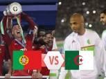 البرتغال تتقدم على الجزائر بثنائية في الشوط الأول