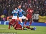 ميرتينز ويورينتي يقودان تشكيل نابولي المتوقع ضد ليفربول